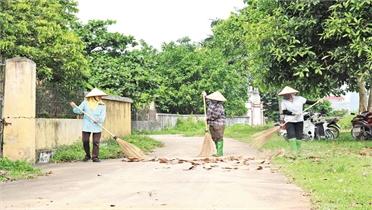 Long Lanh - làng quê rộn tiếng chổi tre