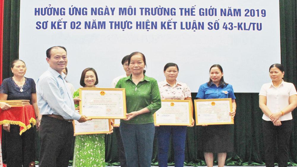thôn Long Lanh, xã Bảo Đài, huyện Lục Nam, vệ sinh môi trường, Giải thưởng môi trường, Bắc Giang