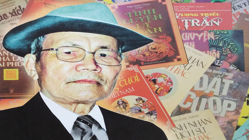 Nhà văn hóa dân gian Trần Quốc Thịnh: Một đời tâm huyết với nghề, Trần Quốc Thịnh, Bắc Giang
