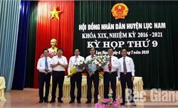Ông Lương Thế Tuấn được bầu giữ chức Phó Chủ tịch UBND huyện Lục Nam (Bắc Giang)