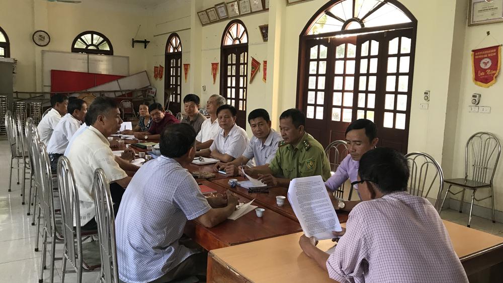 quản lý bảo vệ và  phát triển rừng, quy ước thôn, Bắc Giang, kiểm lâm