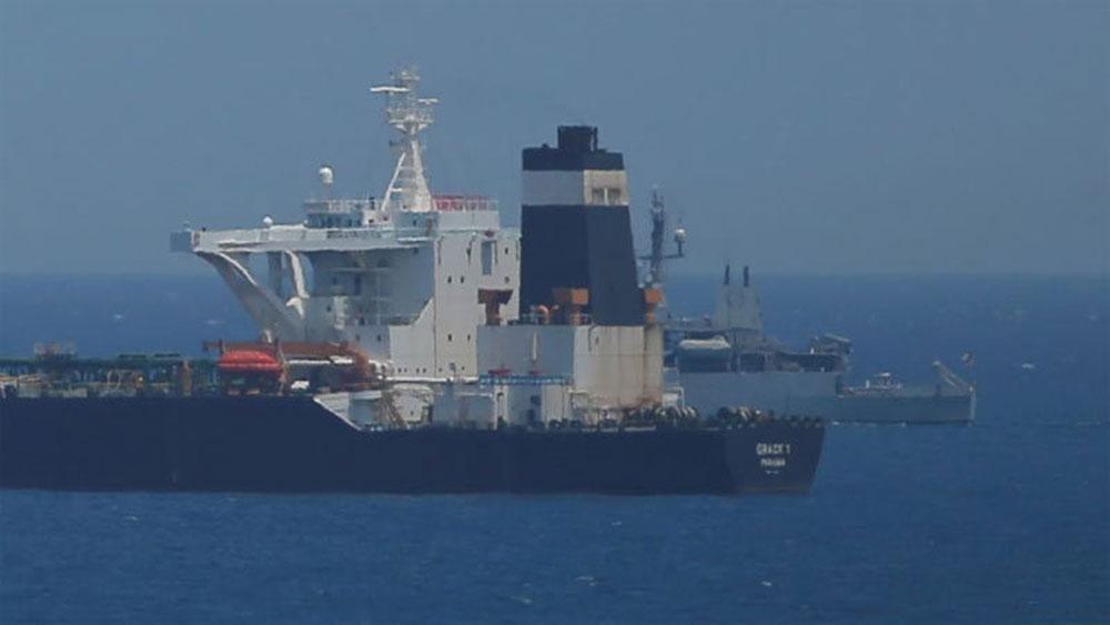 Iran, cảnh báo, bắt giữ, tàu chở dầu của Anh
