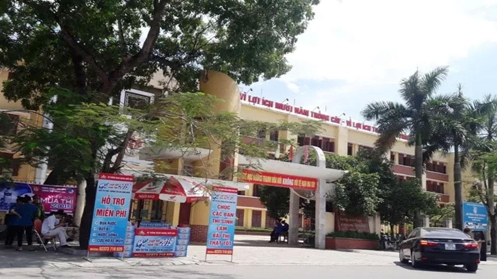 Kiểm sửa, hàng chục nghìn bài thi trắc nghiệm, thí sinh dự thi THPT quốc gia ở Thanh Hóa, Ban chấm thi trắc nghiệm
