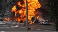 Cháy xe bồn khiến nhiều người thương vong tại Nga