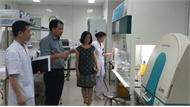 Khoa Vi sinh, Bệnh viện Đa khoa tỉnh đạt tiêu chuẩn hiện đại