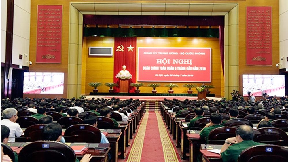 Thủ tướng Nguyễn Xuân Phúc,  Hội nghị Quân chính toàn quân, Quân ủy T.Ư, Bộ Quốc phòng