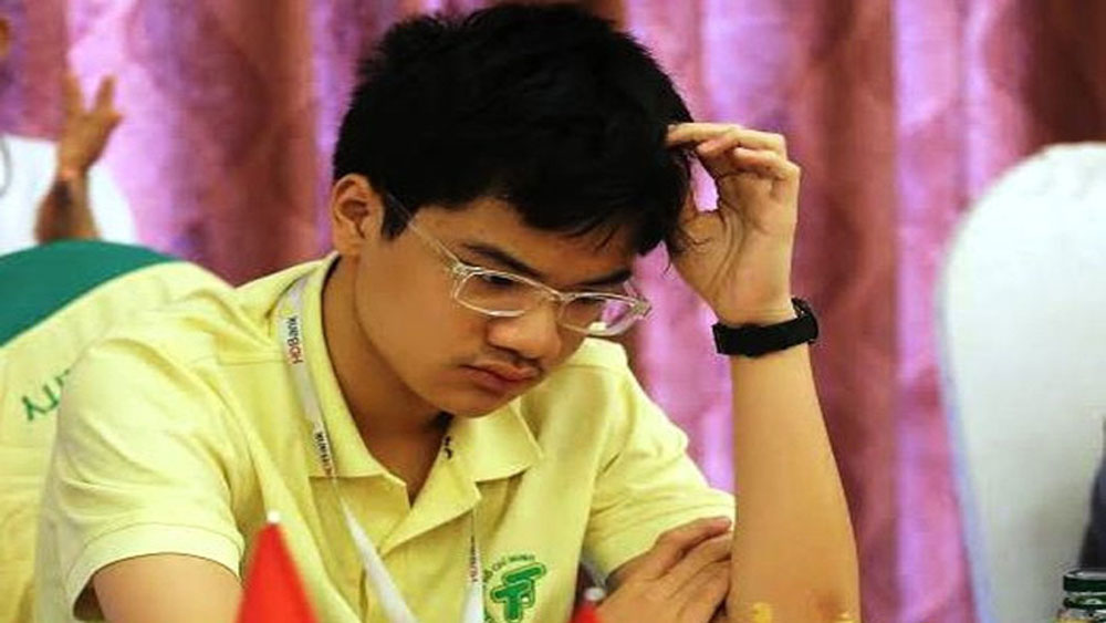 Rising Vietnamese star wins Asian Junior Chess Championship