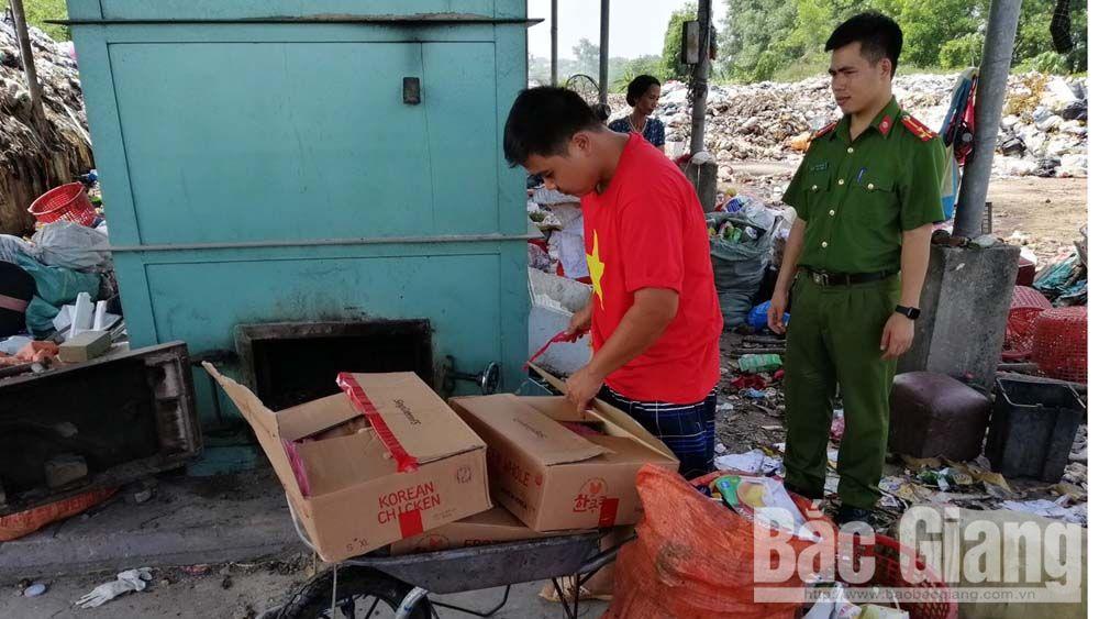 Pát hiện 2 vụ vận chuyển lợn thịt, sản phẩm động vật không rõ nguồn gốc, Cục quản lý thị trường Bắc Giang
