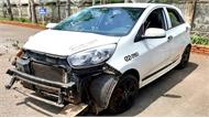 Thiếu tá cảnh sát giao thông gây tai nạn chết người rồi lái ôtô rời đi