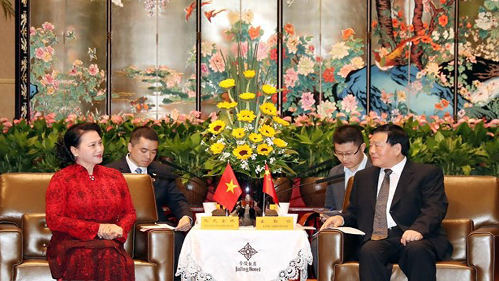 China, Jiangsu province, ties with Vietnam, economic and industrial park development, people-to-people exchange, culture and tourism