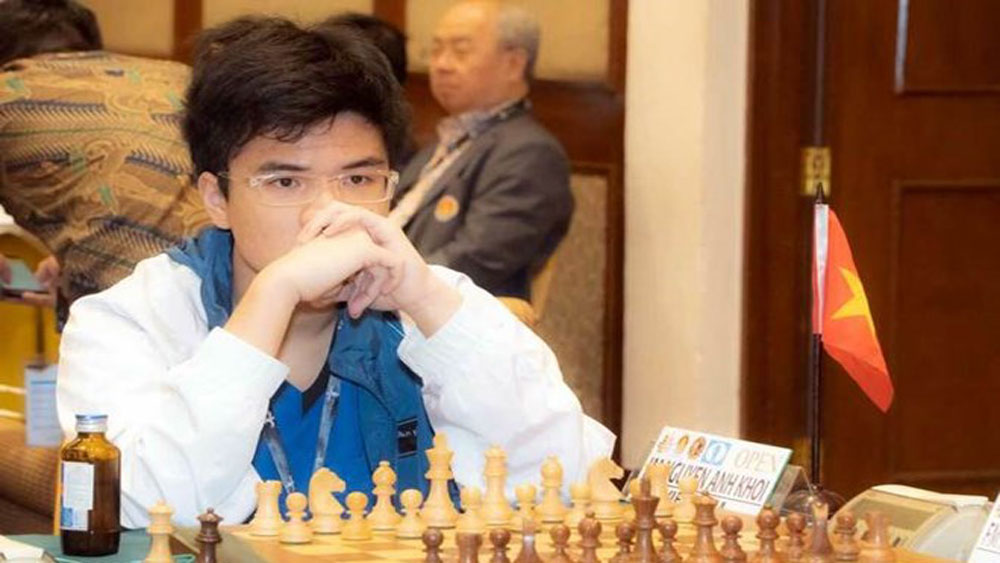 Chess master Khoi wins Asian standard title