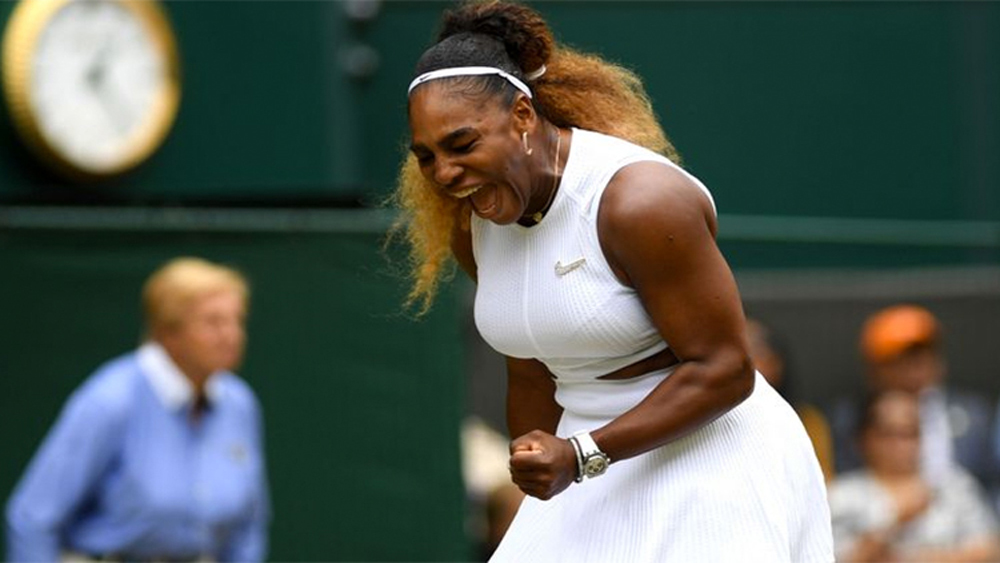 Serena Williams, Serena, Riske, Wimbledon, Grand Slam