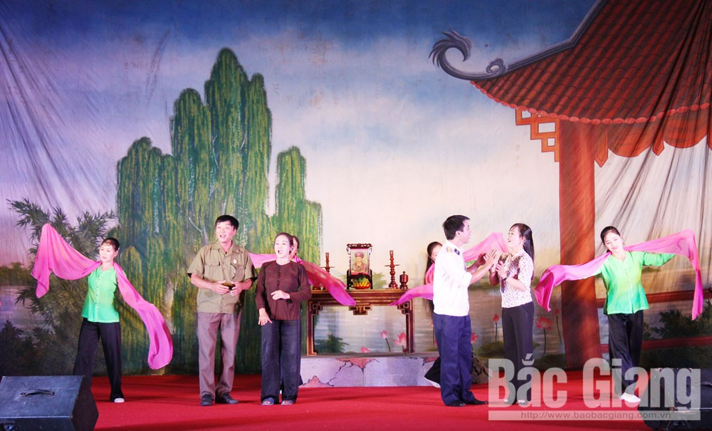 Bac Giang province, grassroots artists, preserving cheo art, ancient Chieng Bac cheo, Vietnamese traditional opera, traditional art, folk cultural and singing activities