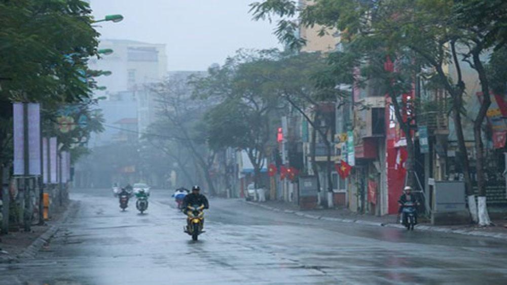 Bắc Bộ mưa mát, Trung Bộ vẫn nắng rát