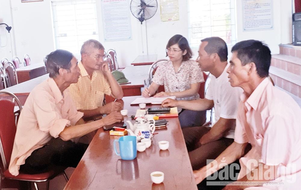 Báo Bắc Giang, Bắc Giang, Trần Đức Khôi, Yên Dũng, đồng hồ, nước sạch