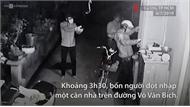 Băng trộm rút súng uy hiếp chủ nhà ở TP Hồ Chí Minh