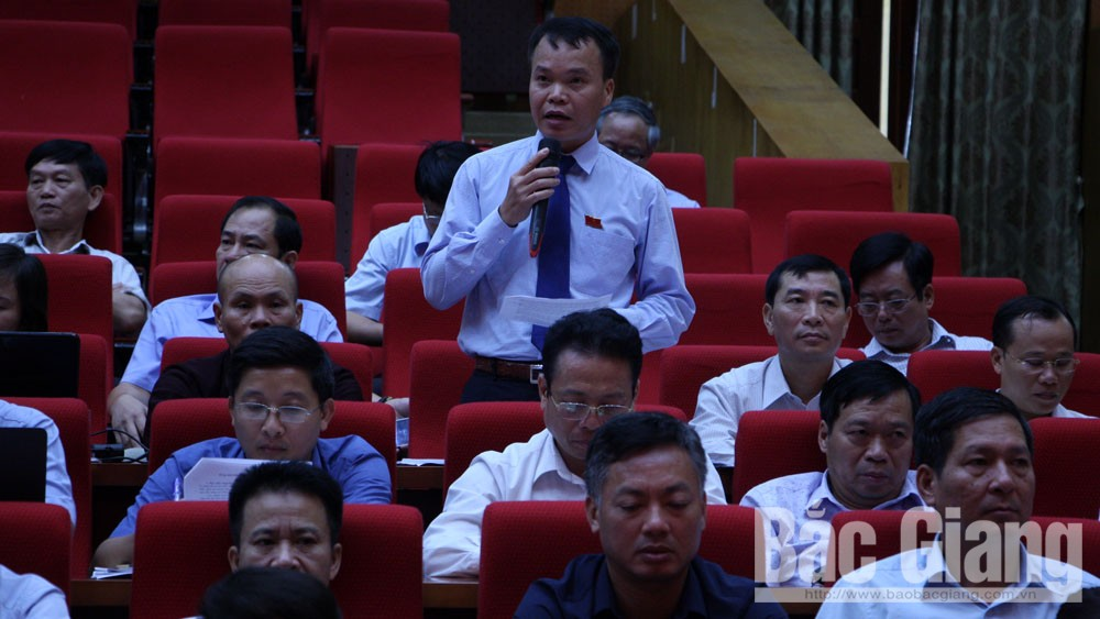 Kỳ họp thứ 7, HĐND tỉnh: Chất vấn về chất lượng thu hút đầu tư và quy hoạch khu, cụm công nghiệp