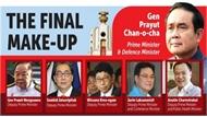 Nhà vua Thái-lan phê chuẩn danh sách thành viên chính phủ mới