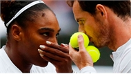 Murray - Serena bị loại ở vòng ba đôi nam nữ Wimbledon