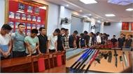 Tạm giữ hình sự 21 thanh niên tham gia vụ hỗn chiến gây náo loạn