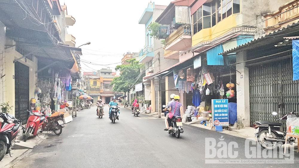Bắc Giang, đường ngõ, chỉnh trang, nguồn lực, tuyến phố, đô thị