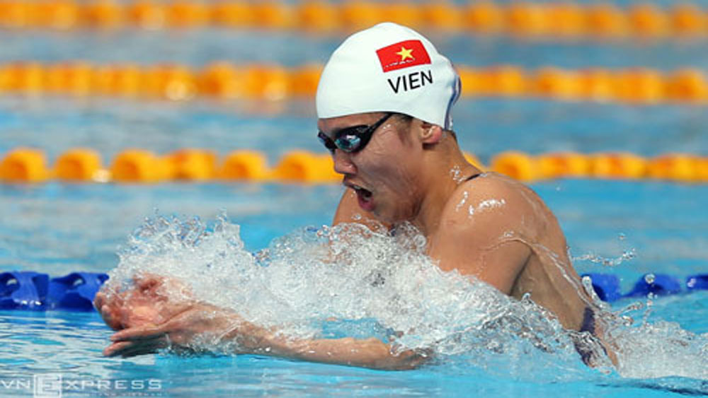 Vietnam, seven-member team, world swimming championship, World Aquatics Championship, gold medals, largest contingent