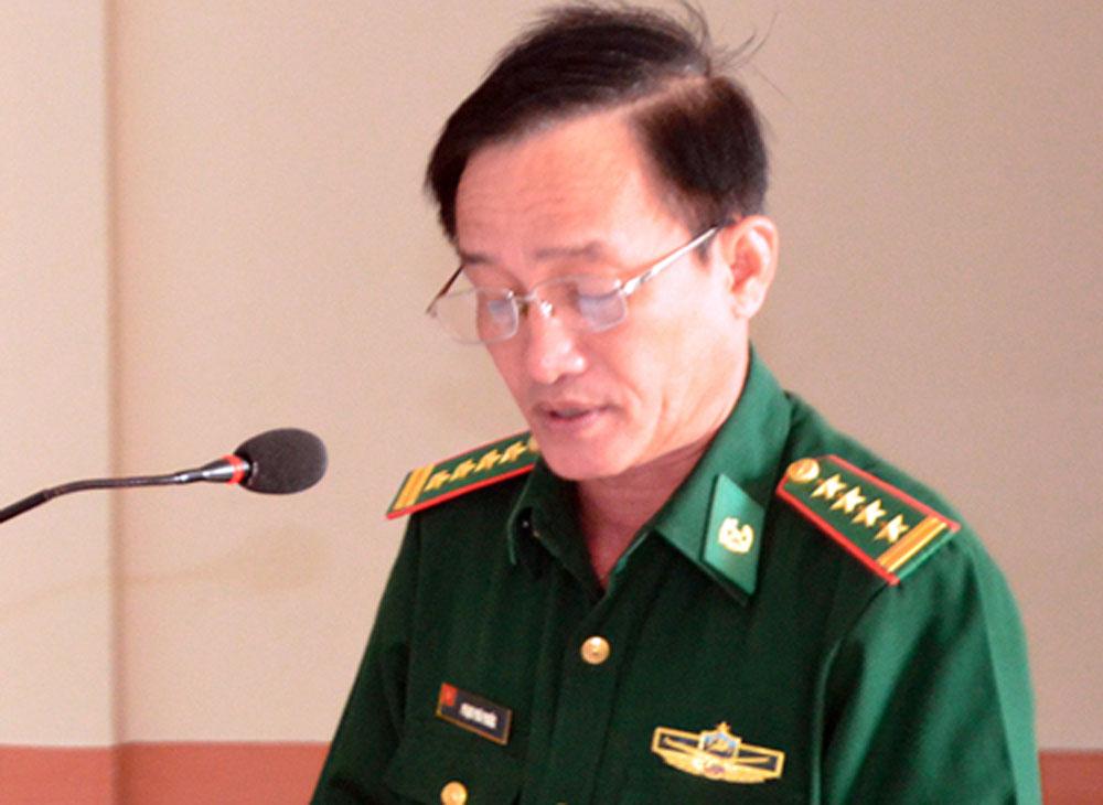 Chỉ huy trưởng Bộ đội Biên phòng Long An, bị cảnh cáo, Đồn biên phòng Bình Hiệp, Đại tá Phạm Phú Phước