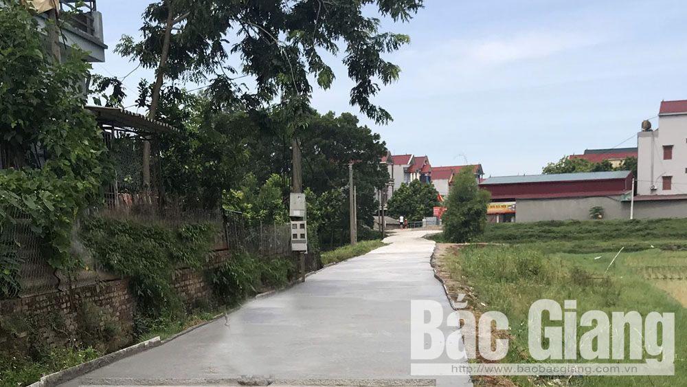 Hiệp Hòa, nông thôn mới, cơ sở vật chất, giao thông nông thôn,hiến đất, Thanh Vân, thôn Tam Hợp