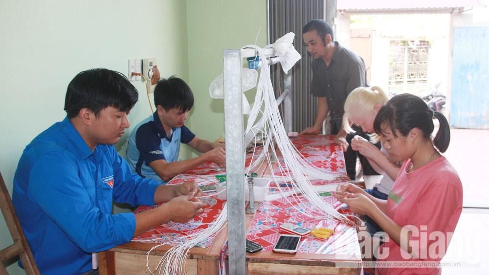 Bắc Giang, Hiệp Hòa, thanh niên khuyết tật, hội viên, thanh niên, tự lập, vươn lên trong cuộc sống