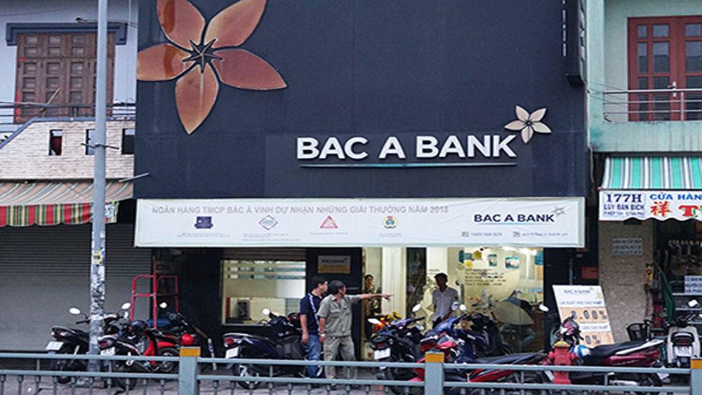 Nghi can, cướp ngân hàng ở TP Hồ Chí Minh, bị bắt, Ngân hàng Bắc Á (TP HCM)