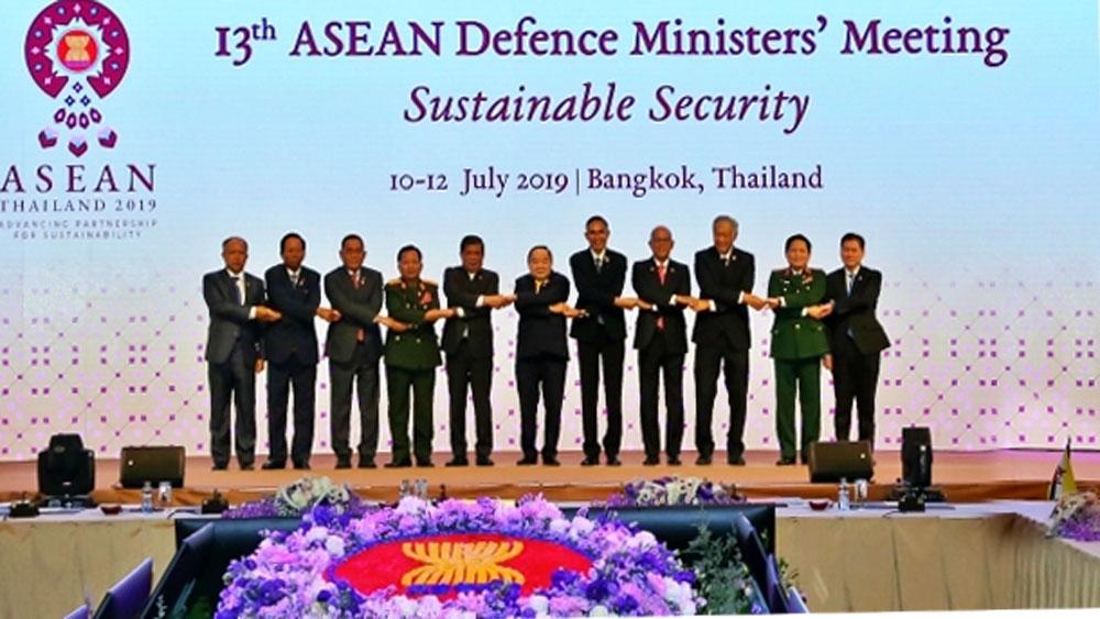 Hội nghị Bộ trưởng Quốc phòng các nước ASEAN lần thứ 13 tại Thái-lan