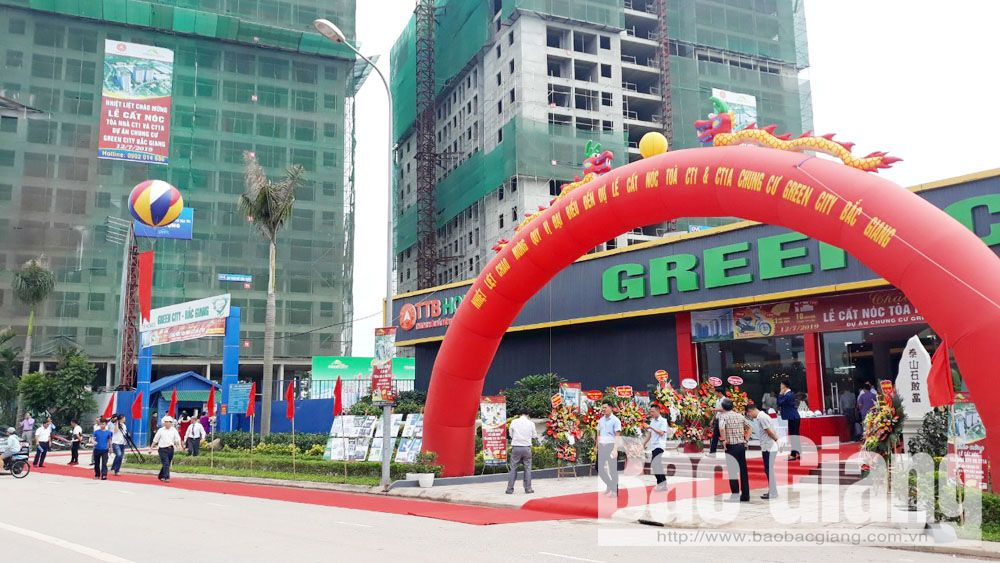 Green City, chung cư, TP Bắc Giang, Tập đoàn Tiến Bộ