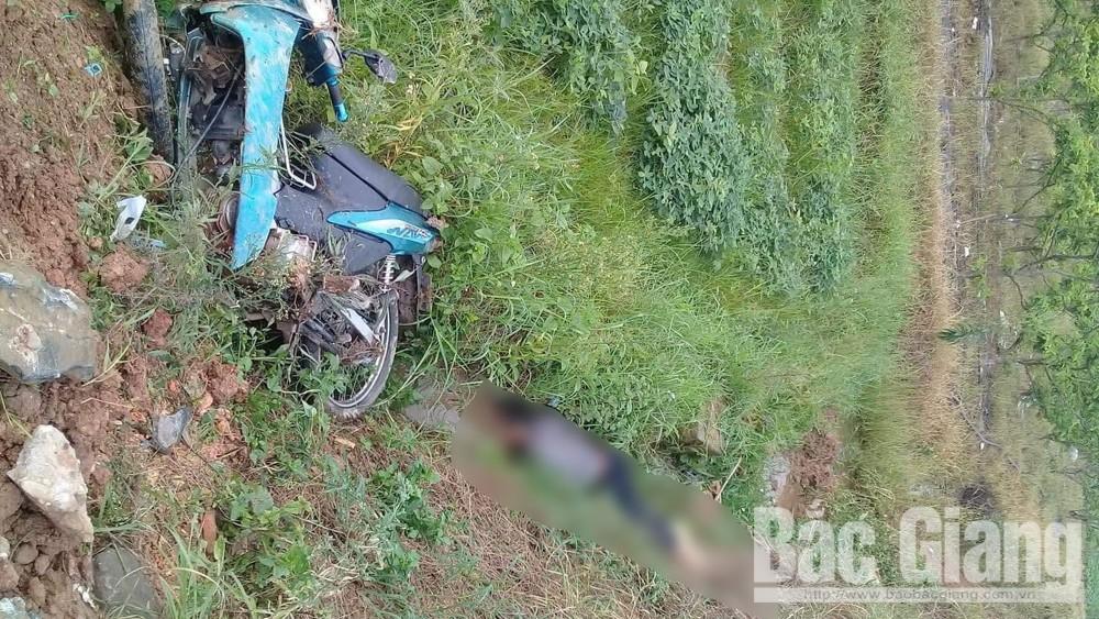 tự ngã, tai nạn giao thông, rượu bia, Lạng Giang, Bắc Giang
