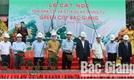 Cất nóc tòa nhà CT1 và CT1A dự án chung cư Green City Bắc Giang