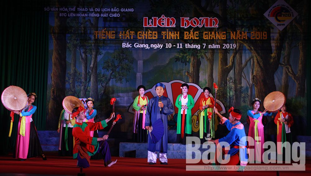 Bac Giang province, A prizes, provincial cheo singing festival, Vietnamese traditional opera, community art troops, traditional cultural values