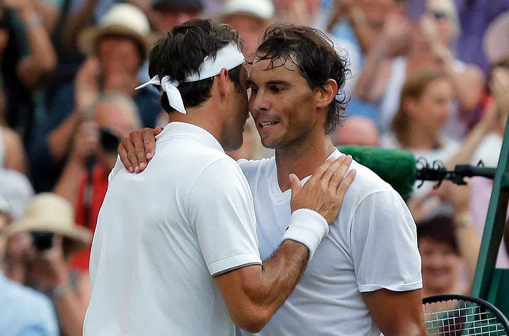 Rafael Nadal, Roger Federer, Wimbledon 2019, trực tiếp tennis