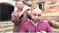 Võ sư Flores đến chùa Bổ Đà (Bắc Giang) đóng phim