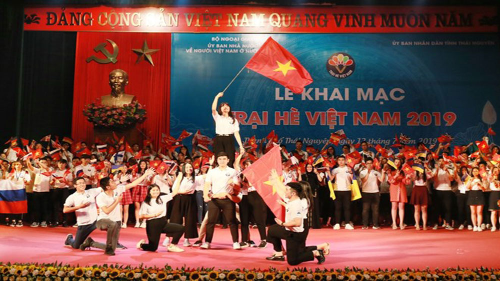 Vietnam Summer Camp 2019, Overseas Vietnamese Affairs, outstanding achievements, cultural and art activities,  Vietnamese youth and students