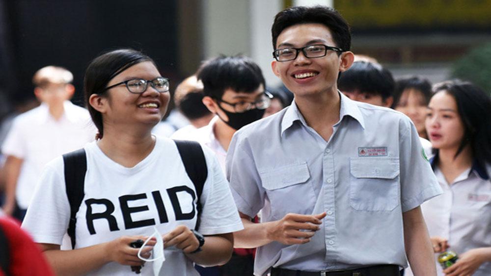 Phổ điểm một số tổ hợp xét tuyển đại học, cao đẳng năm 2019