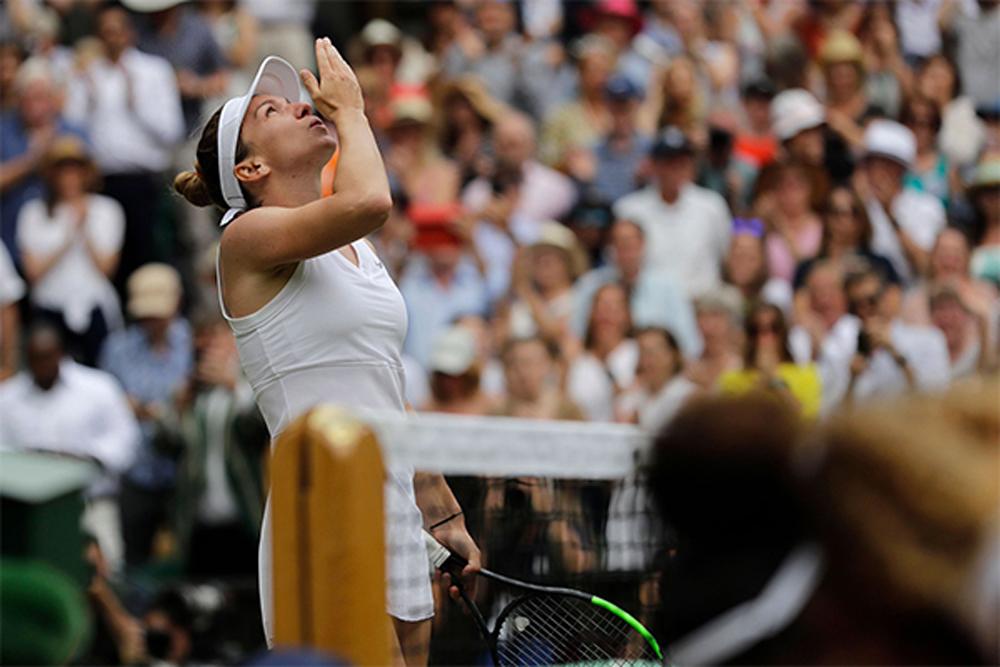 Simona Halep, Halep, Serena, Wimbledon