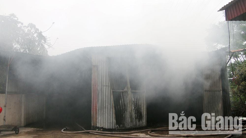 cháy kho chứa hàng, Bắc Giang, phòng cháy chữa cháy