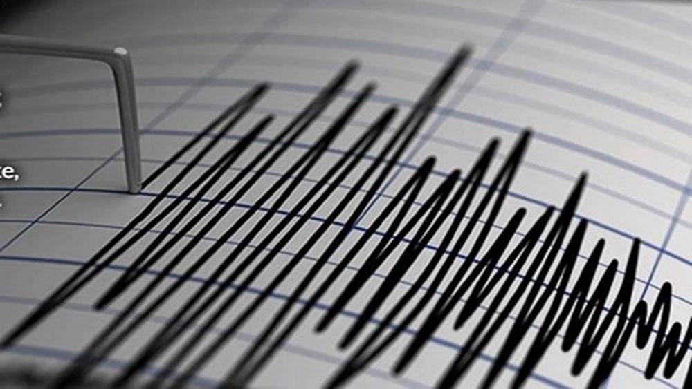 Một trận động đất, cường độ 7,3, xảy ra tại Indonesia, đảo Ternate, cơ quan khí tượng và địa vật lý Indonesia