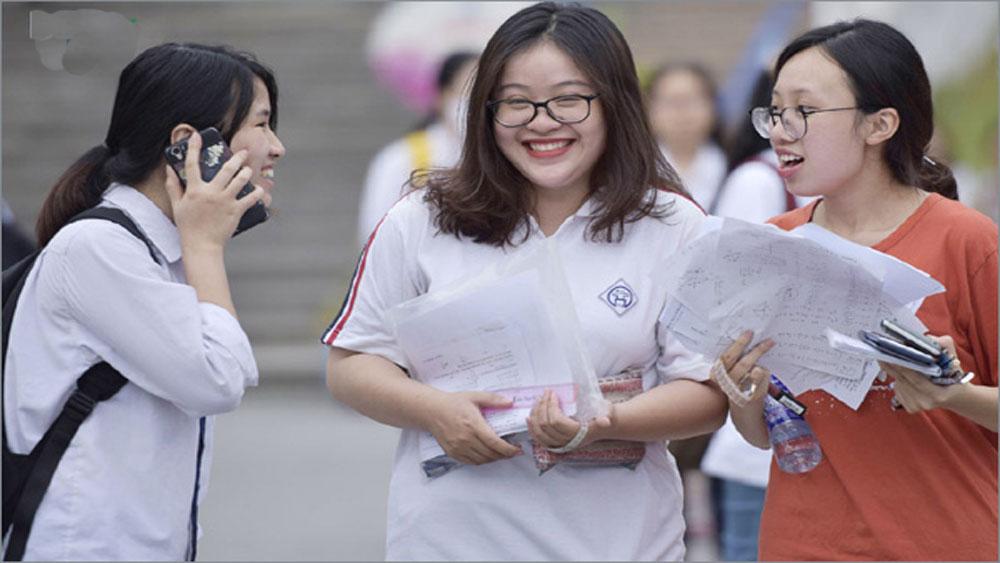 """Phổ điểm thi THPT Quốc gia 2019, Môn Lịch sử ,""""lẹt đẹt"""" ở cuối"""