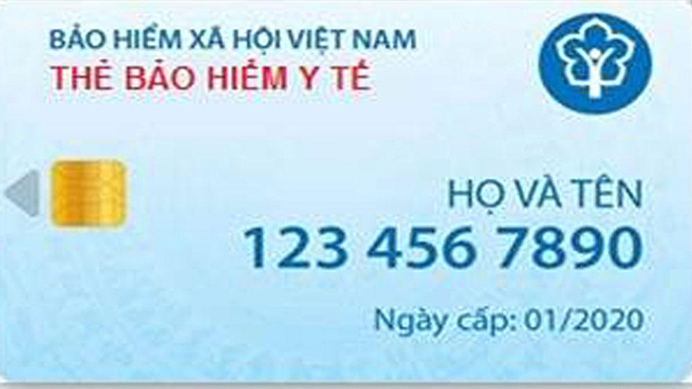 thẻ bảo hiểm y tế giấy, thẻ bảo hiểm y tế điện tử, từ tháng 1-2020