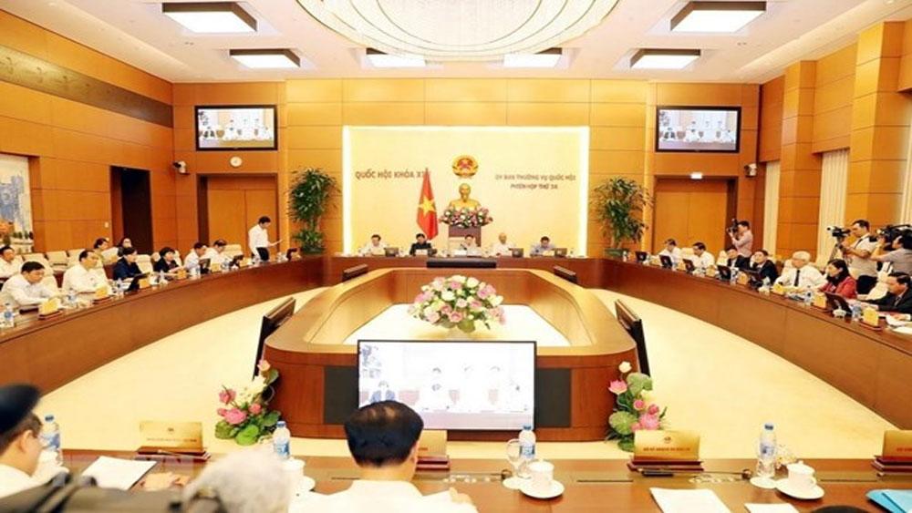 Khai mạc, Phiên họp thứ 35 của Ủy ban Thường vụ Quốc hội,