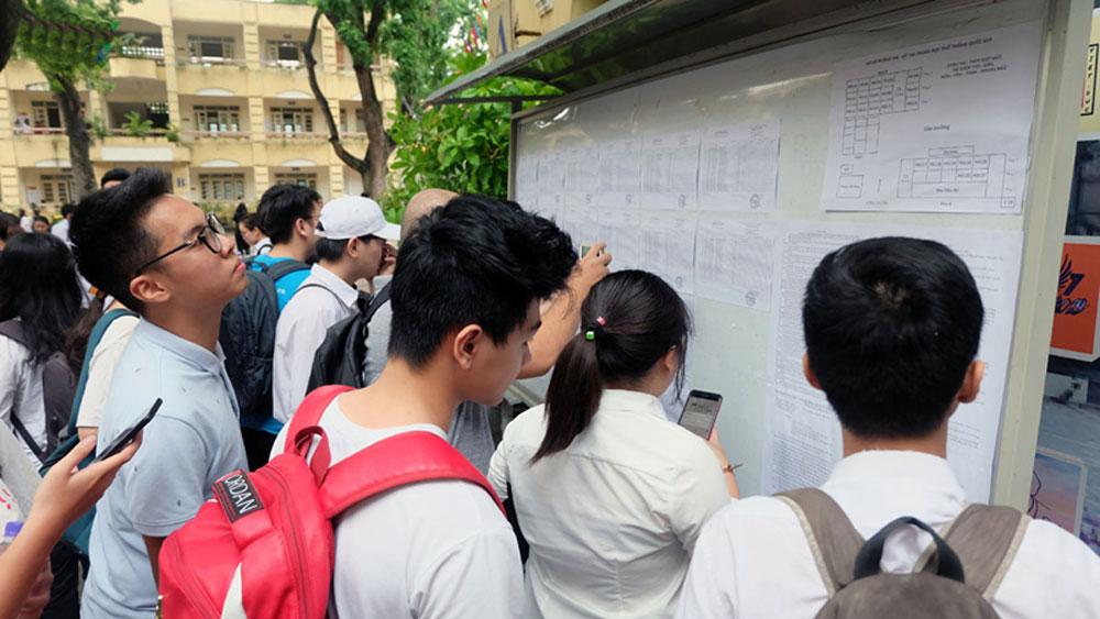 Đại học Ngoại thương cơ sở II, công bố điểm sàn, nhận hồ sơ xét tuyển 2019