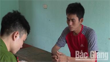 Bắt đối tượng gây ra 6 vụ trộm cắp bình ắc quy xe ô tô ở Bắc Giang