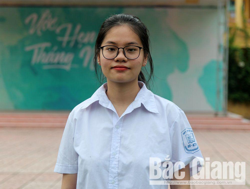 Thi THPT quốc gia 2019, Tlrường THPT Ngô Sĩ Liên, Bắc Giang, thí sinh, điểm cao