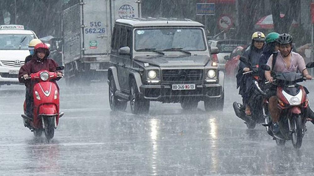 Dự báo thời tiết 16-7, miền Bắc, ngày nắng nóng, chiều tối đổ mưa dông