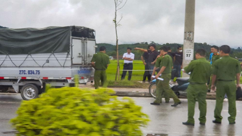 Thực nghiệm, hiện trường,  vụ sát hại nữ sinh giao gà ở Điện Biên, đối tượng Bùi Văn Công